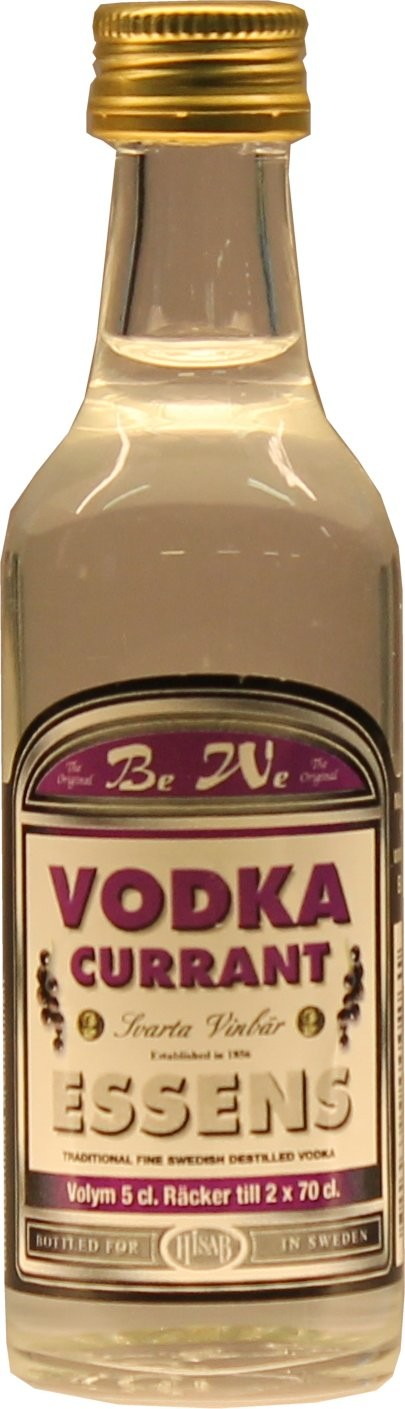 Vodka Currant Essens 5 cl