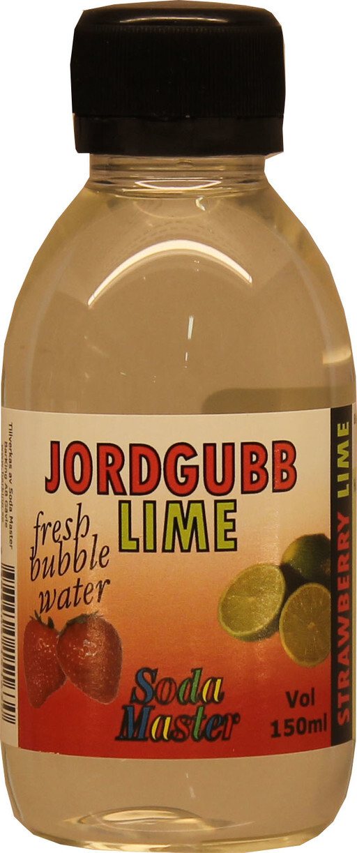 Jordgubb/Lime Bordsvattensmaksättare 150ml